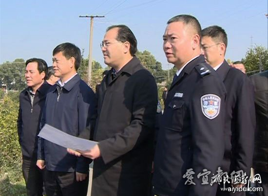 马旭明调研宜昌驾考中心建设