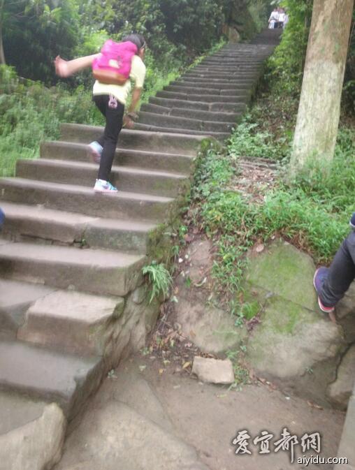 上山的台阶