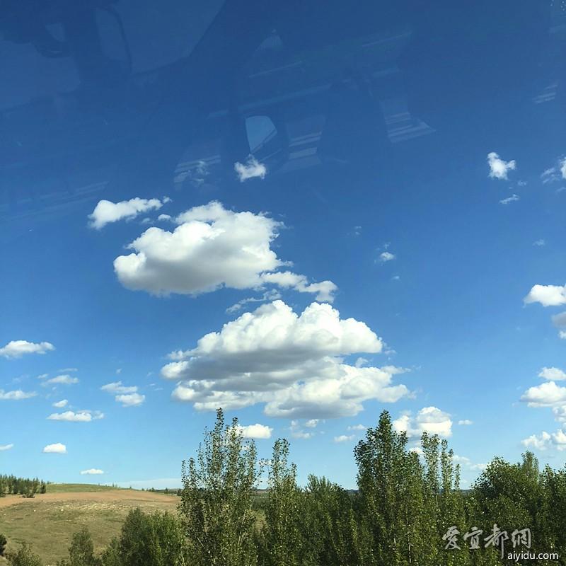蓝天白云睛空万里