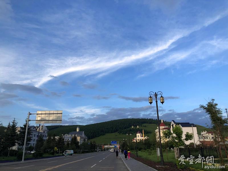 阿尔山城区