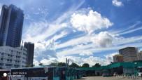 這藍天白云好好看