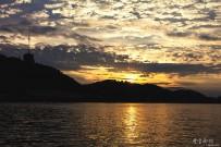 俄亥俄河上的日落