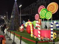 宜都人拍深圳    圣诞来袭商家忙(一)