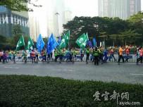 宜都人拍深圳        深圳国际马拉松赛(6公里赛)
