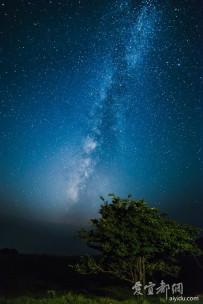 山楂树上的银河