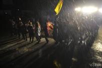 潘家湾在吕家坳村举办了篝火晚会