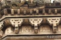 精美的古建筑斗拱,摄于河阳古民居.