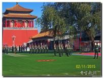 宜都人拍北京32——天安门国旗护卫队